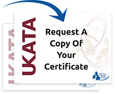 Request a copy of your certificate
