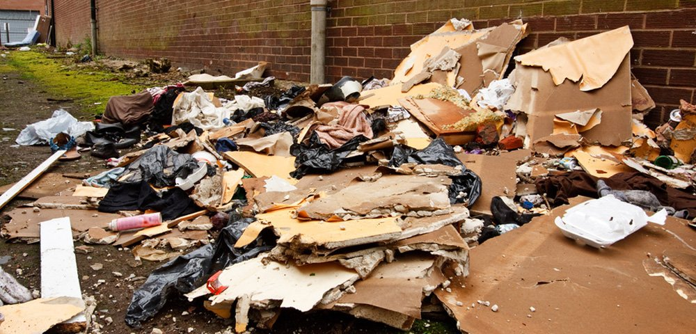 Dealing With 'Fly-Tipped' Asbestos Waste