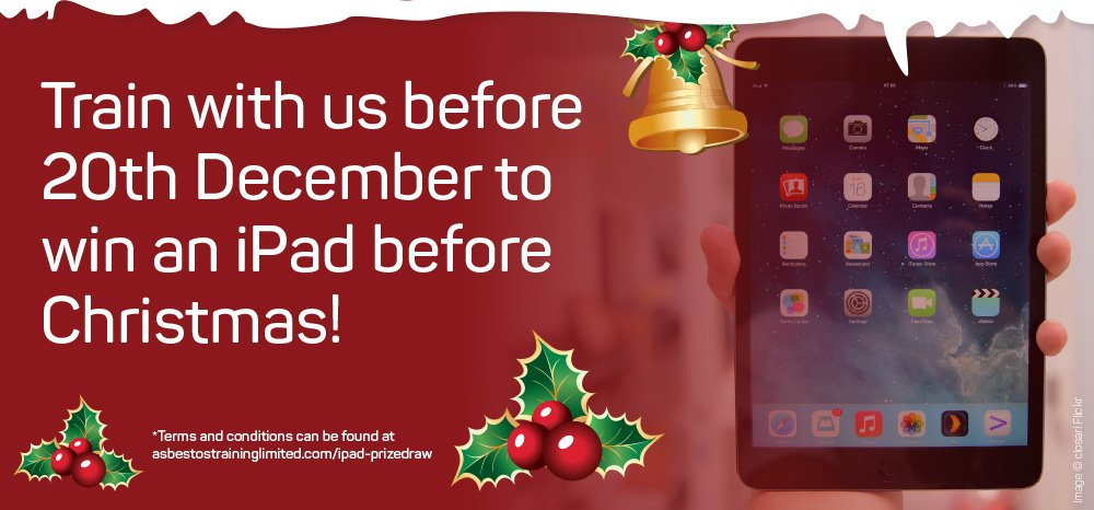 Win an iPad in time for Christmas