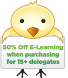 50% off E Learning