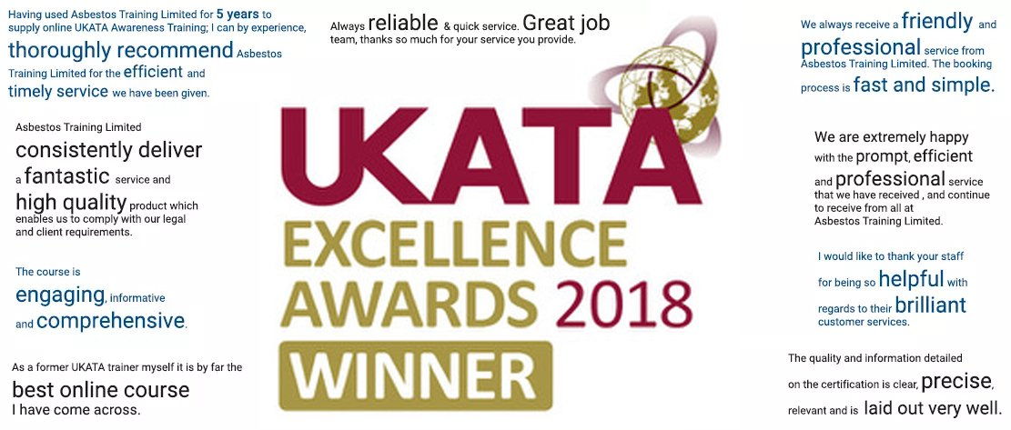 UKATA Excellence Awards Finalist 2018